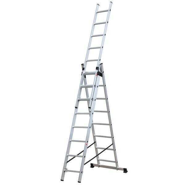 Лестница выдвижная 3 х секционная