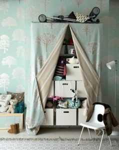 шторы для стеллажей